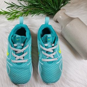 Nike Shoes | sz 10c | turquoise | yellow | white